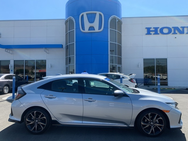 Certified Pre-Owned 2019 Honda Civic Sport